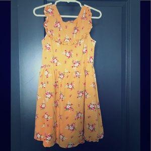Girls floral GAP dress